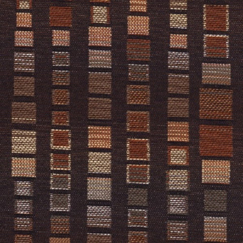 Knoll Textiles Upholstery Fabric Geometric Squares Zari Charm
