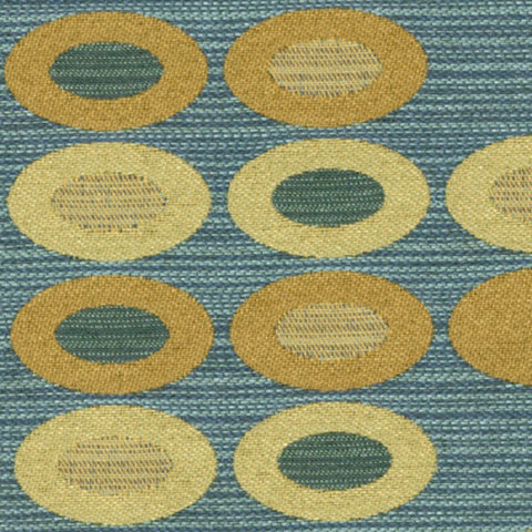 Knoll Abacus Peacock Upholstery Fabric