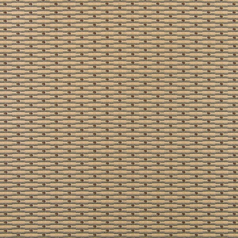 Akimbo Parchment Pencil Stripe Dot Upholstery Fabric