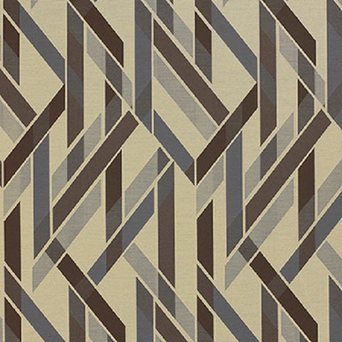 Momentum Almanac Quarry Stripe Crypton Gray Upholstery Fabric