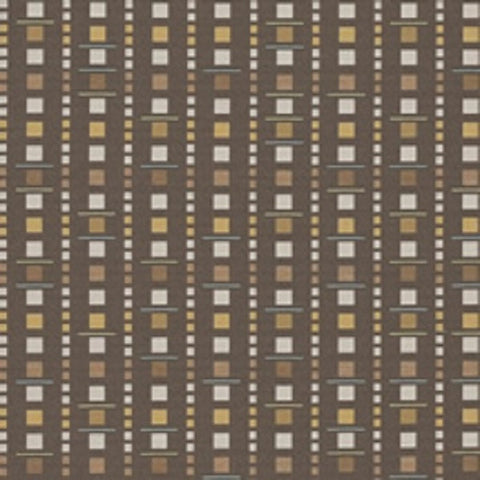 Arc-Com Fabrics Upholstery Fabric Remnant Analog Cocoa
