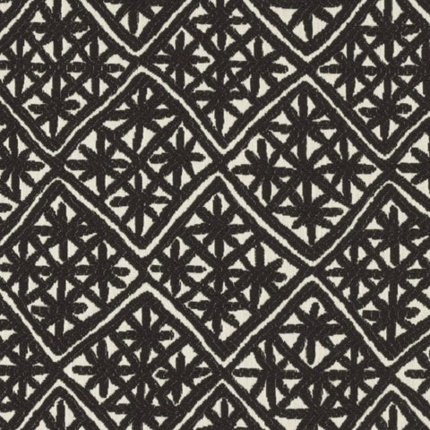 Designtex Aster Deep Space Black Upholstery Fabric