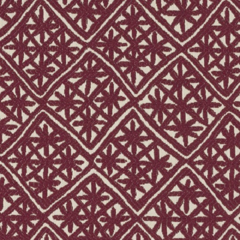 Designtex Aster Red Giant Upholstery Fabric
