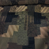 Swavelle Mill Creek Barker Raven Geometric Black Upholstery Fabric