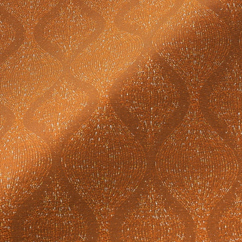 Pallas Basaltes Sandelwood Orange Upholstery Fabric