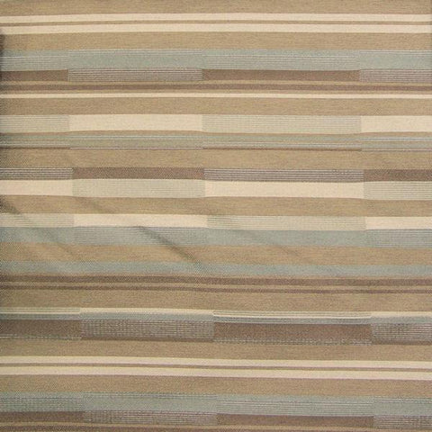 CF Stinson Upholstery Fabric Staggered Stripes Bass Line Metal