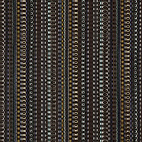 Remnant of Momentum Beep Bridge Black Upholstery Fabric