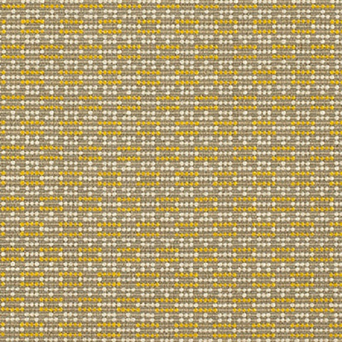 Momentum Bobby Lemon Dotted Yellow Upholstery Fabric