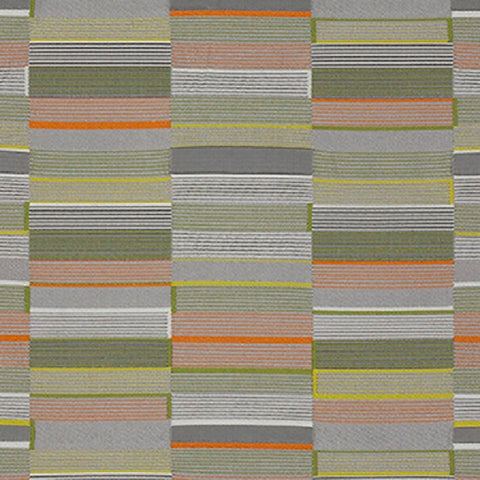 Momentum Textiles Upholstery Fabric Modern Stripe Boxcar Tundra