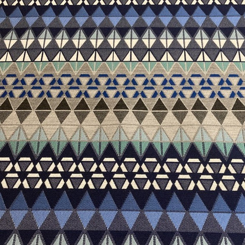 Brentano Pinnacle Spire Blue Sunbrella Upholstery Fabric