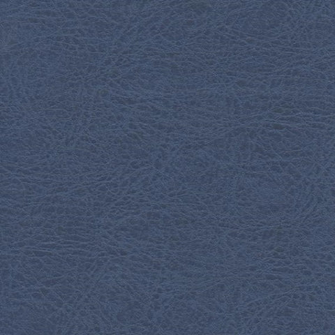 Brisa Fresco Azurite Subtle Faux Leather Blue Upholstery Vinyl
