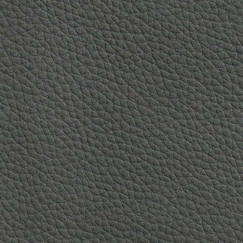 Mayer Fabrics Fabric Remnant of Caressa Granite Gray Faux Leather Vinyl