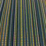 Momentum Chromatic Grotto Stripe Blue Upholstery Fabric
