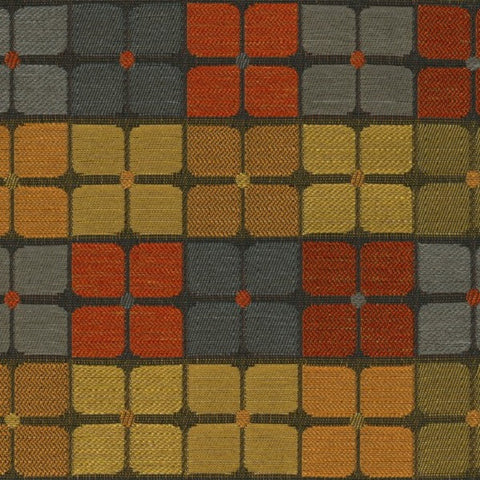 Designtex Fabrics Upholstery Fabric Remnant Cross Court Autumn