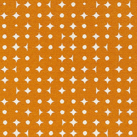 Remnant of Decode Blaze Orange Upholstery Fabric