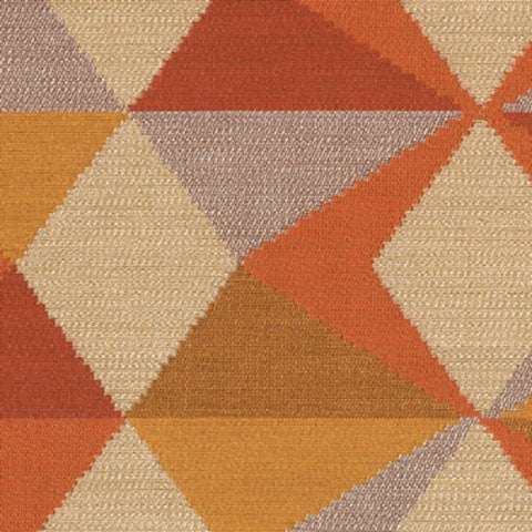 Dialogue Cayenne Orange Upholstery Fabric