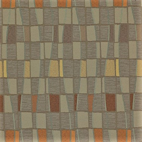 Momentum Textiles Upholstery Fabric Geometric Design Domain Fossil
