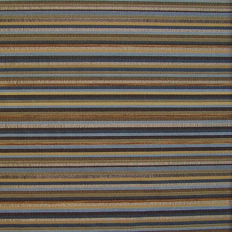 Bernhardt Textiles Upholstery Fabric Metallic Stripe Wing Twilight