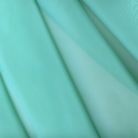 Drapery Fabric Smooth Sheer French Voile Teal – Toto Fabrics