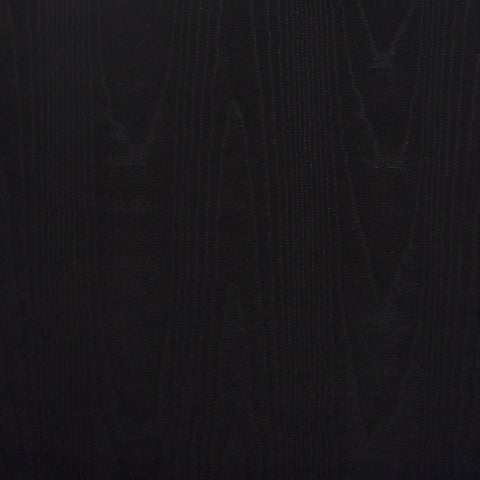 Drapery Fabric High Sheen Watermark Design Moire Black Toto Fabrics