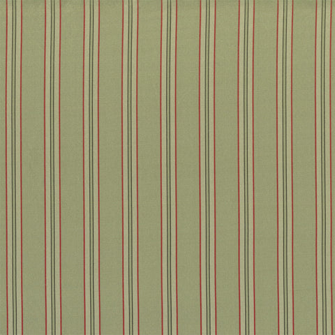 Silk Crafts Drapery Fabric Smooth Balanced Striped Silk Taffeta Sage Toto Fabrics