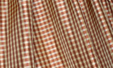 Silk Taffeta Wisdom Warm Gingham Plaid Drapery Fabric