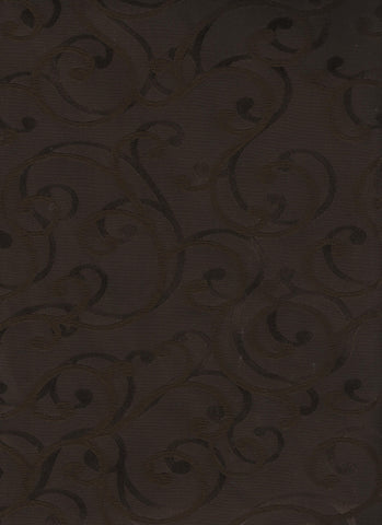 Drapery Fabric Tone On Tone Tendrils Spinoza Chocolate Toto Fabrics