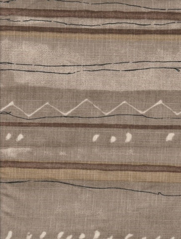 Drapery Fabric Irregular Striped Sudbury Sable Toto Fabrics