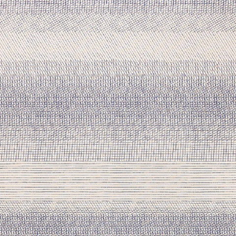 Momentum Drawing Lines Lapis Blue Upholstery Fabric