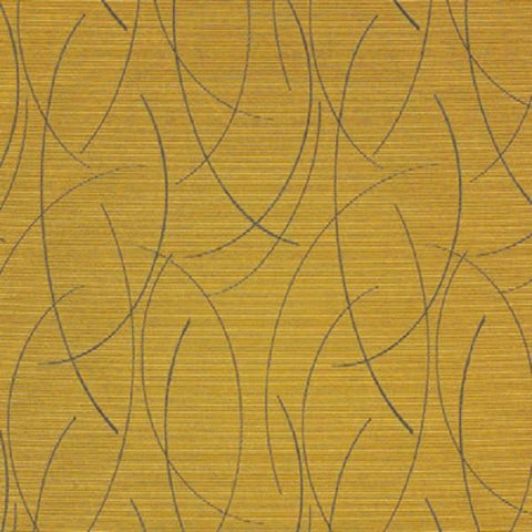 Momentum Textiles Upholstery Fabric Curved Line Drift Semolina