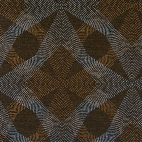 Arc-Com Fabric Remnant of Echo Toffee Brown Upholstery Fabric