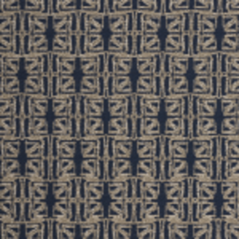 Mayer Fabrics Upholstery Fabric Remnant Facets Navy