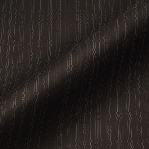 Pallas Textiles Upholstery Fabric Remnant Flexing Muscles Espresso