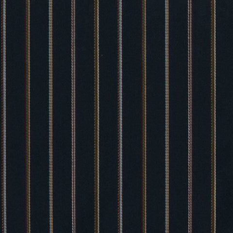 Designtex Fabrics Upholstery Fabric Striped Blue Wool Gramercy Navy