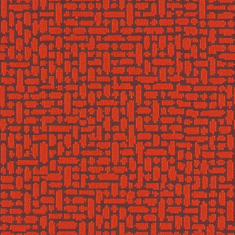 Arc-Com Fabrics Upholstery Fabric Remnant Great Wall Blood Orange