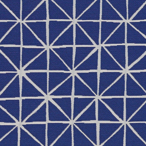 Arc-Com Fabrics Upholstery Fabric Remnant Grid Blueberry Upholstery Fabric
