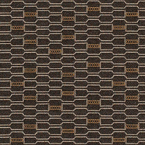 Remnant of Momentum Habit Tailor Black Upholstery Fabric