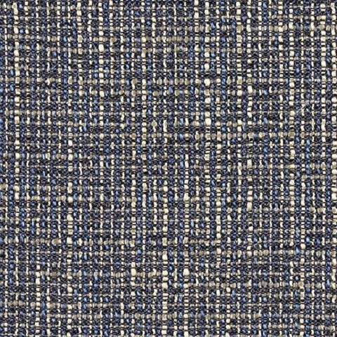 Designtex Hashtag Blueberry Weaved Blue Upholstery Fabric