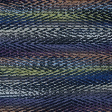 Anzea Haywire Space Time Weaved Black Upholstery Fabric