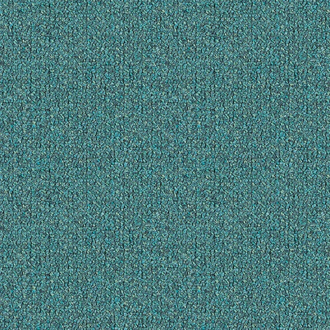 Remnant of Arc-Com Highlands Ocean Blue Upholstery Fabric