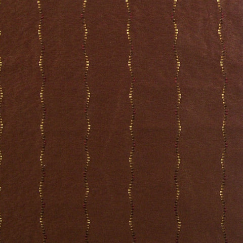 Home Decor Fabric Tissue Pick Stripe Cascading Silk Claret Toto Fabrics