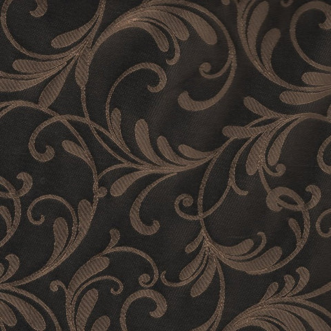 Home Decor Fabric Gold On Black Douglas Onyx Toto Fabrics