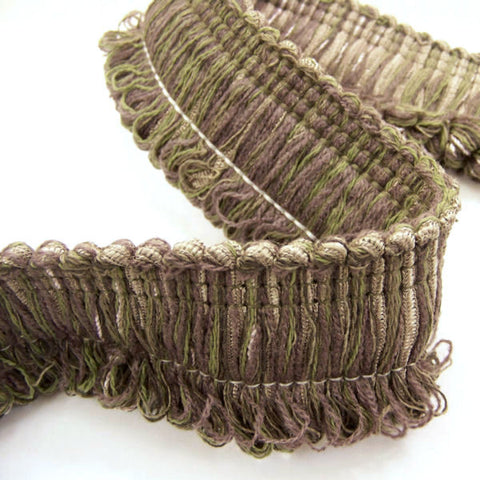 Fly By Eggplant Loop Fringe Purple Home Decor Trim