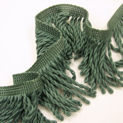 Ortega Sea Green Bullion Fringe Home Decor Trim