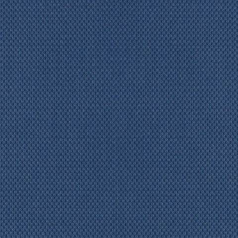 Fabric Remnant of Arc-Com Illusion Indigo Blue Upholstery Vinyl
