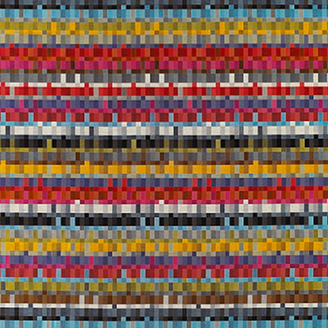 Momentum Textiles Upholstery Fabric Digital Geometric Interim Elation