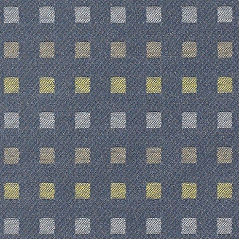 Momentum Textiles Upholstery Fabric Rows Of Squares Intermix II Coast