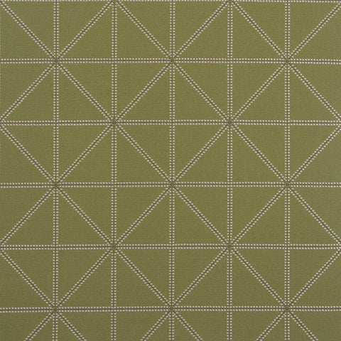 Arc-Com Fabrics Upholstery Fabric Remnant Intersect Green Apple