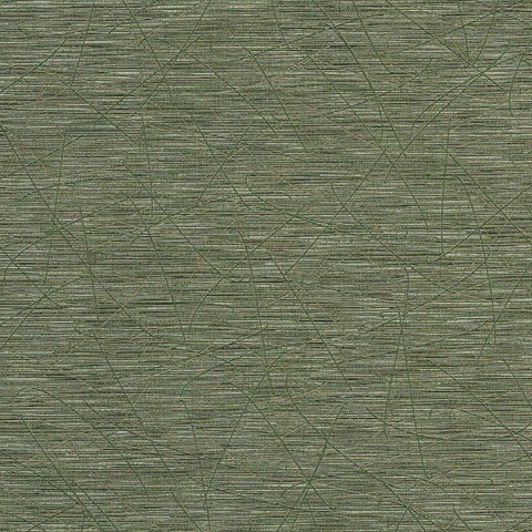 Remnant of Arc-Com Jing Lemongrass Random Etched Green Upholstery Vinyl