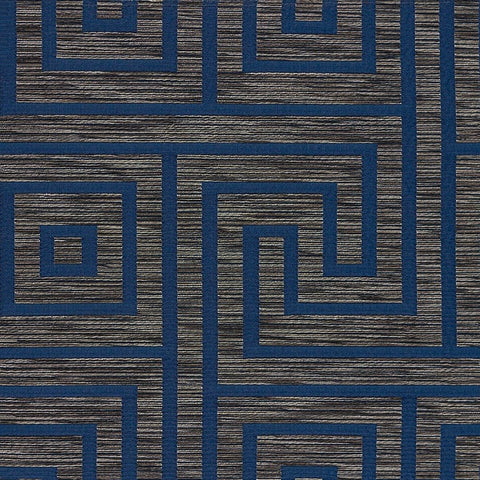 Arc-Com Key Midnight Gray Upholstery Fabric